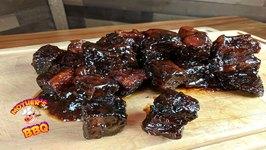 First Time Pork Belly Burnt Ends - Lonestar Grillz