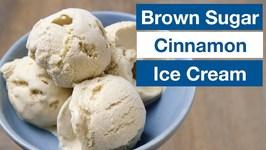 Brown Sugar Cinnamon Ice Cream