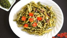 Cashew Basil Pesto Pasta