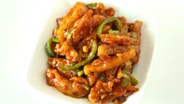 Crispy Honey Chilli Potato / Indo - Chinese Party Starter Recipe / Honey Chilly Potatoes By Smita