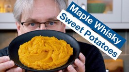 How To Make Maple Whisky Whipped Sweet Potatoes