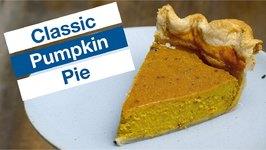 Easy Classic Pumpkin Pie