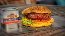 Jack 'N Smoke Encrusted Pepperburger