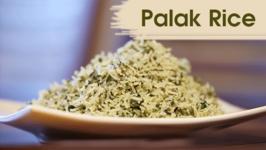 Palak Rice Recipe / Instant Rice Recipe / Divine Taste With Anushruti