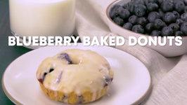 Blueberry Baked Donuts - U.S. Highbush Blueberry Council