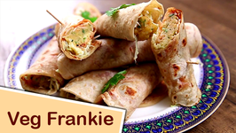 Veg Frankie / Homemade Frankie Recipe / The Bombay Chef - Varun Inamdar