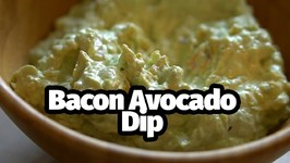 Easy Low Carb And Keto Friendly Bacon And Avocado Dip