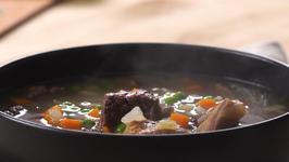 Beef Barley Soup (Stovetop or Pressure Cooker)