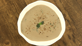 Mushroom Soup / Healthy And Tasty Creamy Mushroom Soup / Winter Soup Recipe By Bhumika