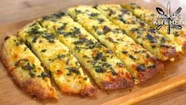 Garlic Bread - Low Carb, Keto Diet Fast Food