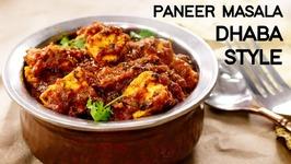 Paneer Masala - Dhaba Style Panner Dish
