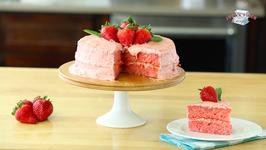 Mama Seward's Strawberry Cake