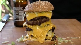 Octo-Mac Cheeseburger aka The Corporate Giant Burger