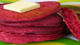 How to Make Beet Pancakes for Kids