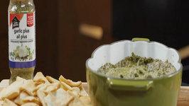 Three Cheese Garlic & Artichoke Dip