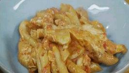 Creamy Parmesan Chicken Penne