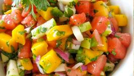 Tomato Pineapple Corona Salsa