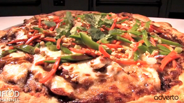 Thai Chicken Pizzza