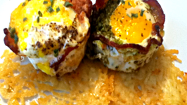 Bacon Wrapped Egg Cups