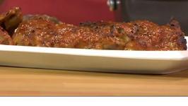 Bold BBQ-Basted Turkey Thighs