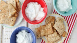 Cucumber Yogurt Dip - School Lunch