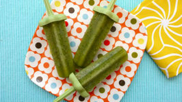 Green Ice Pops