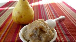 Roast Pear & Banana Puree