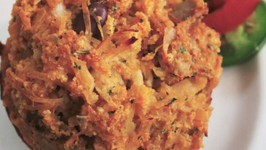 Zesty Chicken Salsa Muffins