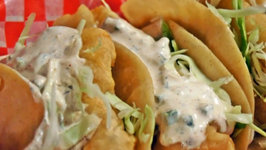 South Meets West Fish Tacos