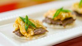 Korean Beef Bites from Jaden of Steamy Kitchen's New Cookbook