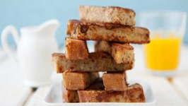 French Toast Sticks - Fun Breakfast
