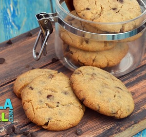 Eggless Chocolate Chip Cookies Christmas Recipe