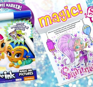 shimmer and shine imagine ink magic - Imagine Ink Coloring Book