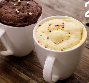 2 Min Mug Cake - Super Soft And Rich Eggless Microwave ...