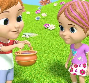 Jack And Jill Went Up The Hill Nursery Rhymes For Children Cartoons Kids