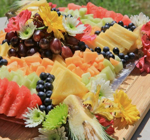 how to make a fruit platter video