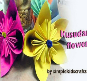 How to make an origami japanese kusudama flower video by how to make an origami japanese kusudama flower video by simplekidscrafts fawesome mightylinksfo