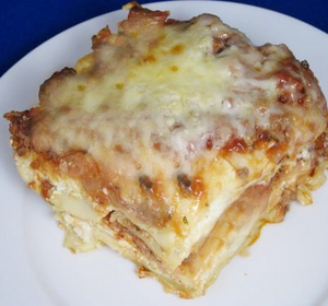 Convenient Vegetarian Lasagna Recipe by Budget.Gourmet ...