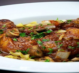 Chicken Cacciatore With Condensed Tomato Soup Recipe By Chef Tim Lee Ifood Tv