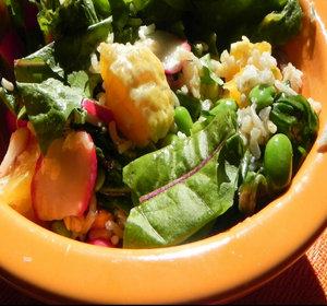 Pity, asian lettuce salad