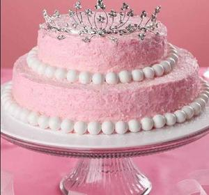 Pink Princess Crown Cake Recipe by Pink.Princess.Party.Cookbook | ifood.tv