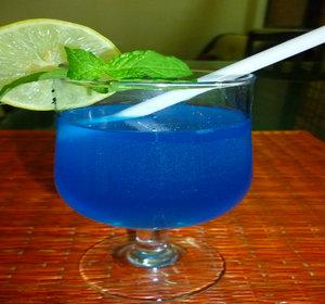 Blue Lagoon Cocktail Mocktail With Desi Citrus Twist Recipe