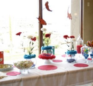 Baby Shower Table Setting by yummytummy | ifood.tv