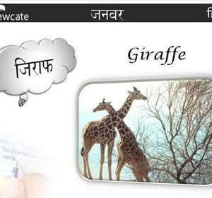 Learn Hindi : Animal Names Video by Edewcate Hindi | fawesome tv