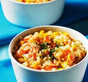 Lemony Risotto with Shrimp Recipe