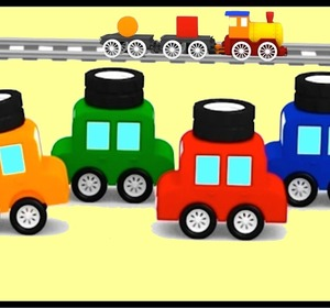 Cartoon Cars Learn Shapes Compilation 5 Construction Cartoons For