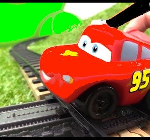 train school lightning mcqueen toy cars and toy trains videos for kids videos for kids cartoons video by ploopchannel fawesometv