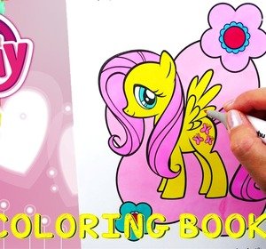 My Little Pony Coloring Book Episode Fluttershy Coloring