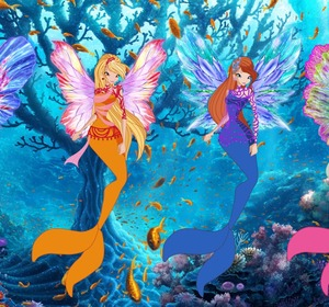 Winx Club World Of Dreamix Mermaid Transformation Coloring Book Video By EviesToyHouse