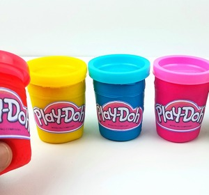 Diy How To Make Play Doh Tubs Modelling Clay Glitter